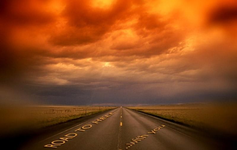 Шлях у пекло