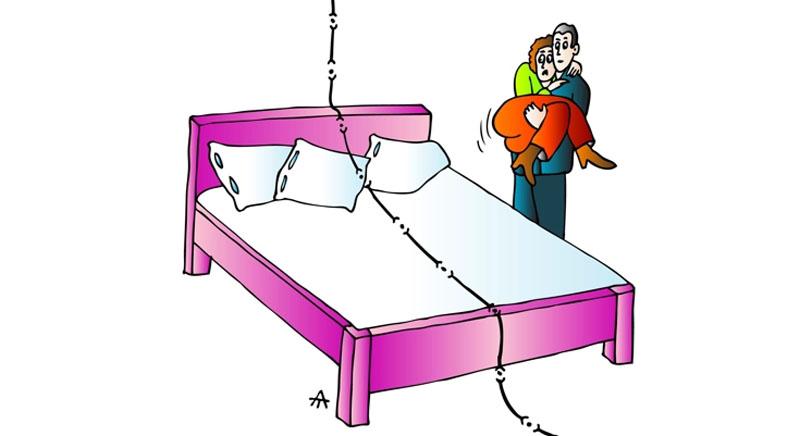 Кордон у спальні