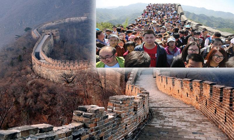 Відвідування Великої Китайської стіни