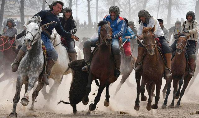 Бузкаші - Національний спорт Афганістану