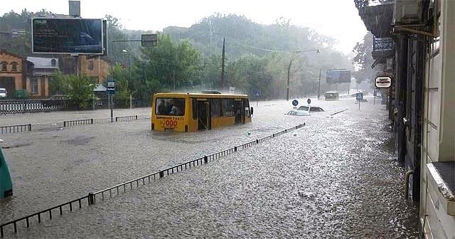 Погода Київ: злива