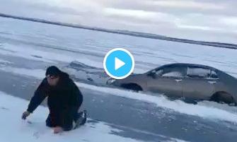 Утопив автомобіль