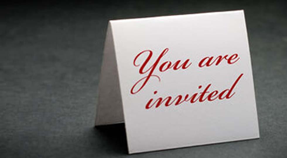 Як написати запрошення - правила складання запрошення