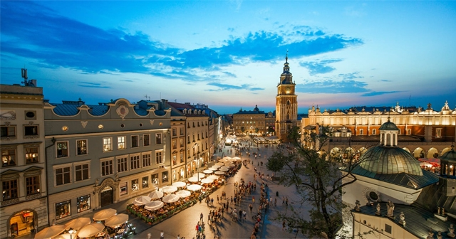 Куди поїхати в травні - Краків