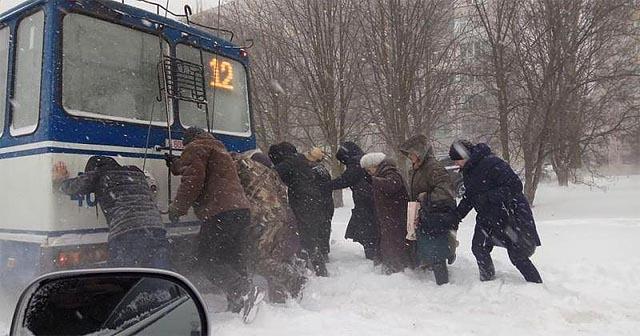 Погода Херсон - снігопади