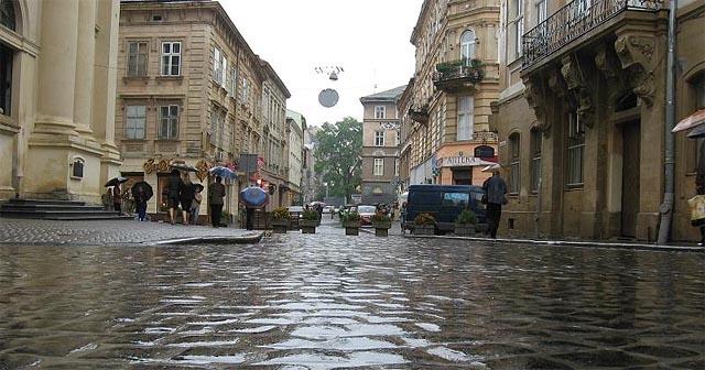 Погода Львів - дощ