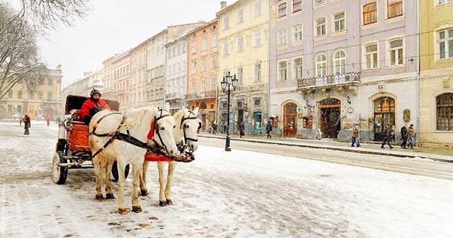 Погода Львів - сніг