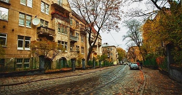 Погода Львів - осінь