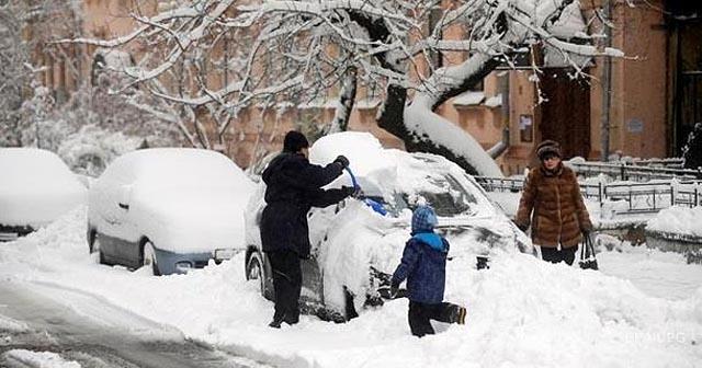 Погода Одеса - снігопади