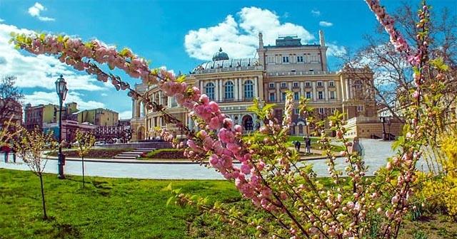 Погода Одеса - весняна погода