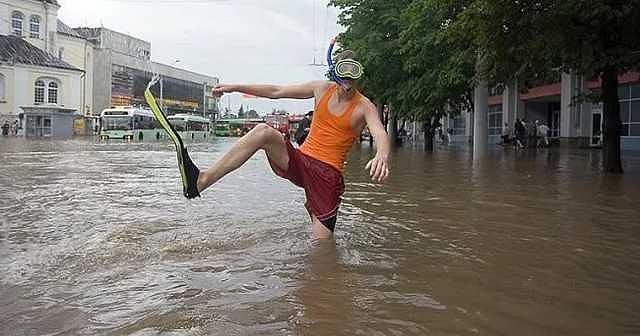 Погода Одеса - дощі