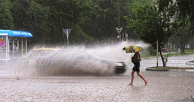 Погода Вінниця - дощ у місті