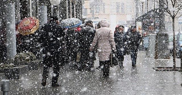 Погода Вінниця - снігопад у місті